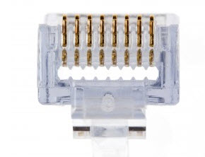 PLATINUM 100003 EZ-RJ45 Cat5e Connector