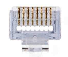 PLATINUM 100010 EZ-RJ45 Cat6 Connector