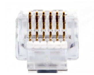 PLATINUM 100026 EZ-RJ12/11 Connector