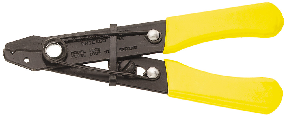 KLEIN 1004 Wire Stripper-Cutter w/ Spring