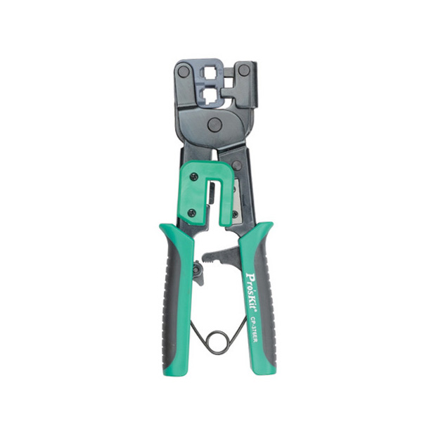 ECLIPSE 300-063 Ratcheted Modular Plug Crimper