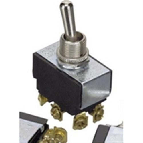 35-110 SPDT, On-Off-On Sequence, Heavy Duty Toggle Switch