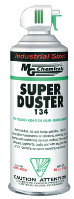 MG CHEMICALS 402A-450G SUPER DUSTER 134 PLUS