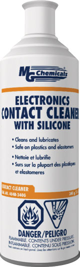 MG CHEMICALS 404B-340G CONTACT CLEANER WITH SILICONES