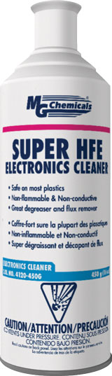 MG CHEMICALS 4120-450G HFE SUPER CLEANER DEGREASER