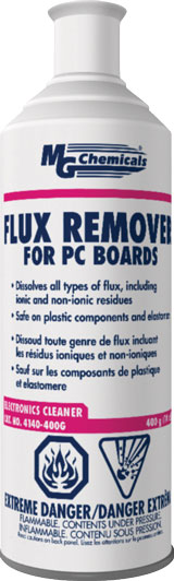 MG CHEMICALS 4140-400G FLUX REMOVER - PLASTIC SAFE