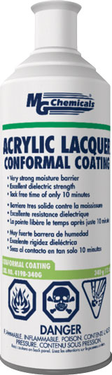 MG CHEMICALS 419B-340G ACRYLIC LACQUER CONFORMAL COAT