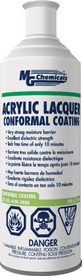 MG CHEMICALS 419C-340G ACRYLIC LA CQUER CONFORMAL COAT