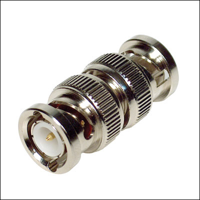 BEST 44-327MM BNC MALE TO BNC MALE ADAPTER 6PK