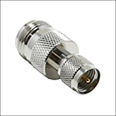 BESI 44-890MINI UHF MALE TO N FEMALE ADAPTER 6PK