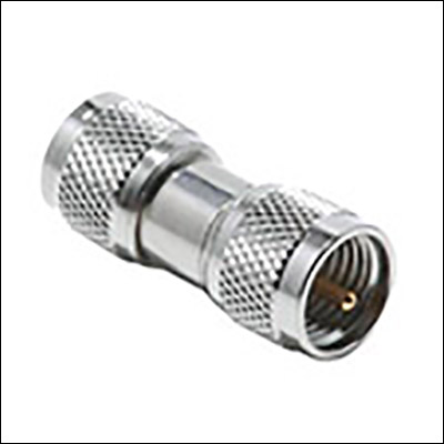 BESI 44-893 Mini UHF Male to Mini UHF Male Adapter 6PK