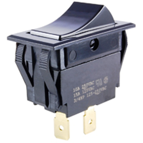 NTE 54-047 SWITCH ROCKER SPST ON-NONE-OFF 15A 125VAC