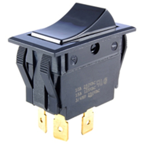 NTE 54-050 SWITCH ROCKER DPST ON-NONE-OFF 15A 125VAC
