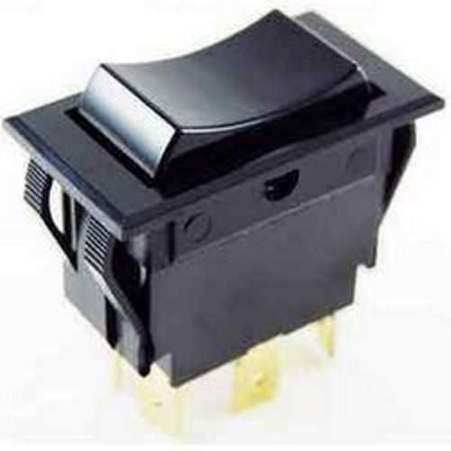 NTE 54-051 SWITCH ROCKER DPDT ON-NONE-ON 15A 125VAC
