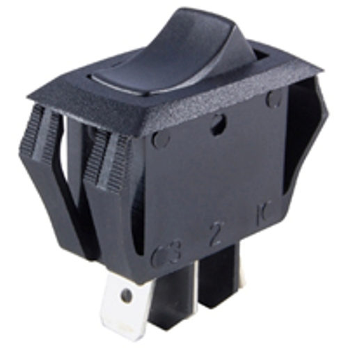 NTE 54-063 ROCKER SWITCH SPDT ON-OFF-ON 16A 125VAC