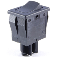 NTE 54-075 ROCKER SWITCH SPST ON-NONE-OFF 8A 125VAC