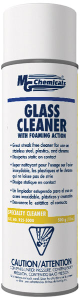 MG CHEMICALS 825-500G GLASS CLEANER