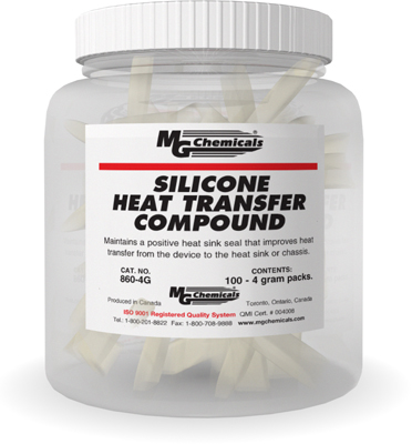 MG CHEMICALS 860-4G SILICONE HEAT TRANSFER COMPOUND