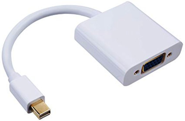 QVS MDPV-MF Mini DisplayPort/Thunderbolt Male to VGA Female Digi