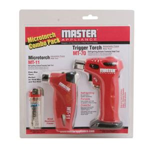 MASTER MT-11 MICROTORCH COMBO PACK