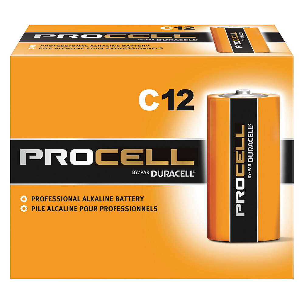 Duracell Procell PC1400 C Alkaline Batteries - 12 Pack