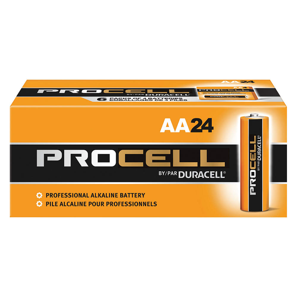 Duracell Procell PC1500 AA Alkaline Batteries - 24 Pack