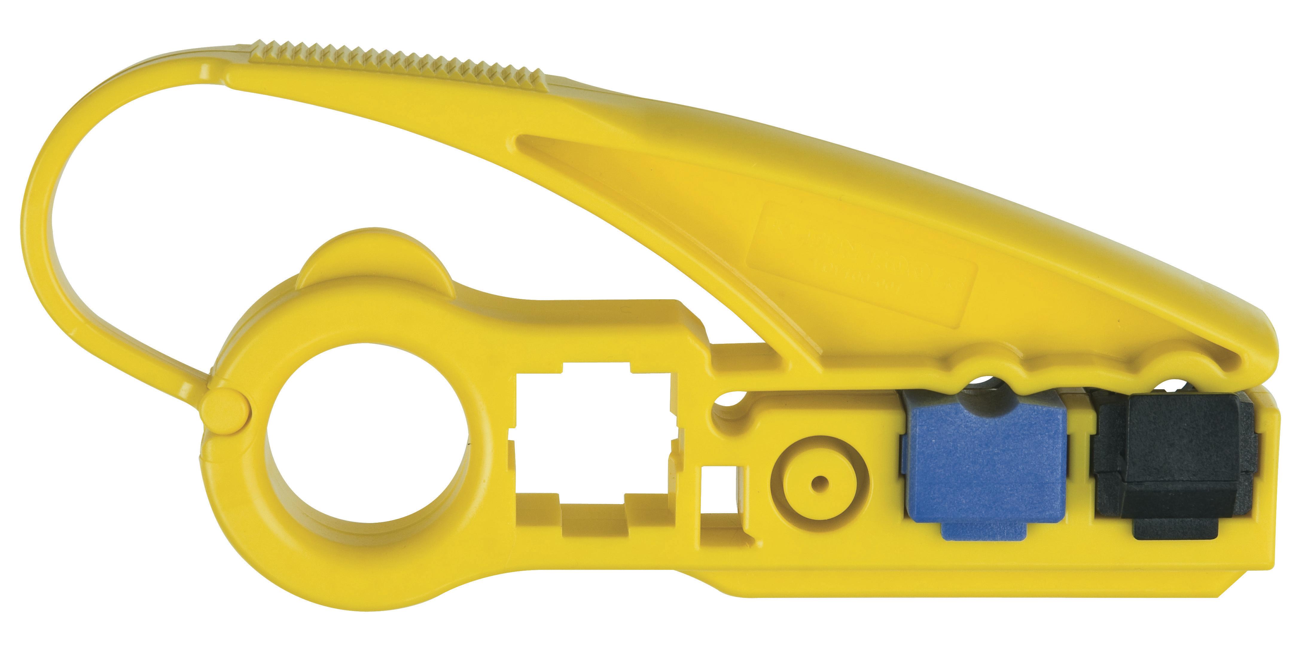 KLEIN VDV100-801-SEN Dual Cart, Radial Stripper - RG6/59 [VDV100 ...